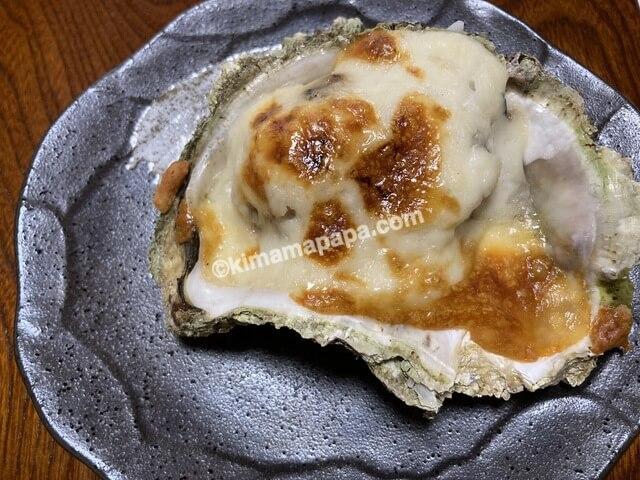 福井県若狭町、松喜の牡蠣グラタン