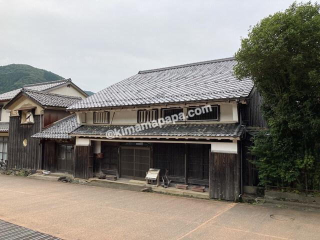 若狭町、熊川宿の萩野家住宅