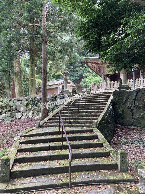 若狭町、熊川宿の白川神社