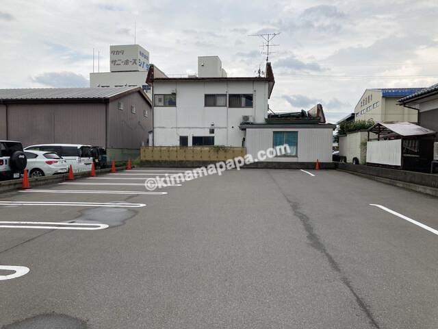 福井市、セナラの第二駐車場