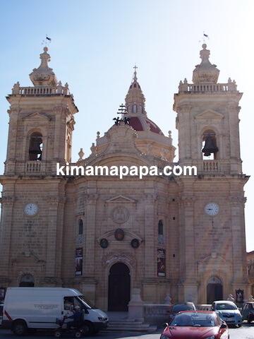 ゴゾ島、xaghra-parish教会