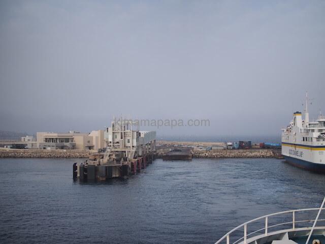 マルタ島からゴゾ島に向けて出航