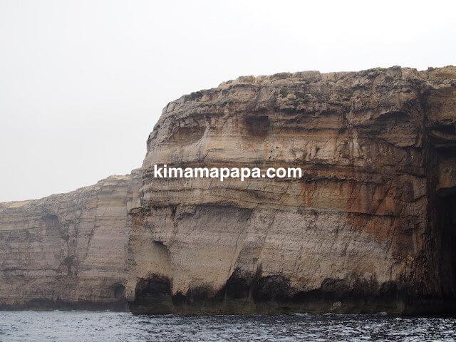 ゴゾ島、アズールウインドーの笑う岩
