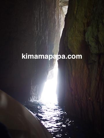 ゴゾ島、アズールウインドーのトンネル