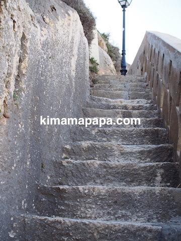 ゴゾ島、シュレンディの階段