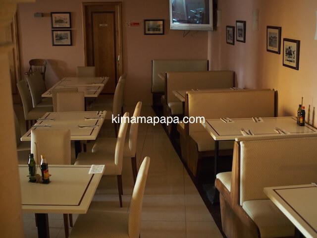 ゴゾ島、ダウンタウンホテルの朝食会場