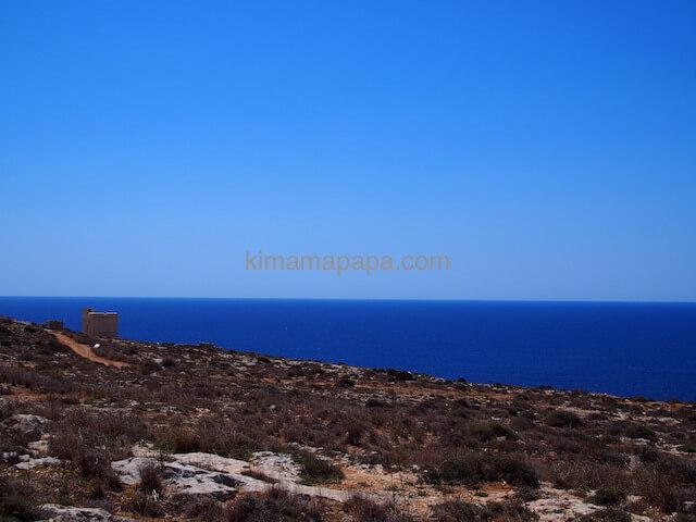 ハジャール・イム神殿の見張り塔