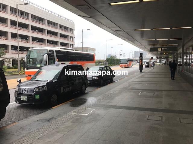 羽田第1ターミナル、バス停車場