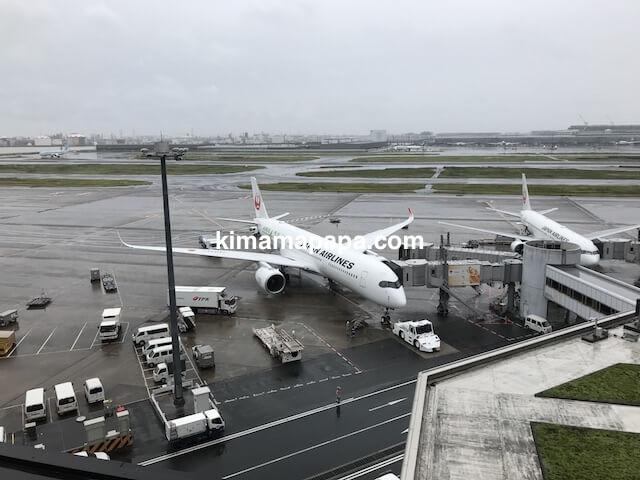 羽田第1ターミナル、JAL-A350
