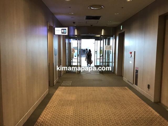 羽田第1ターミナル、展望デッキへの通路