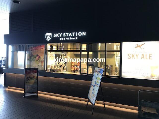 羽田第1ターミナル、スカイステーション