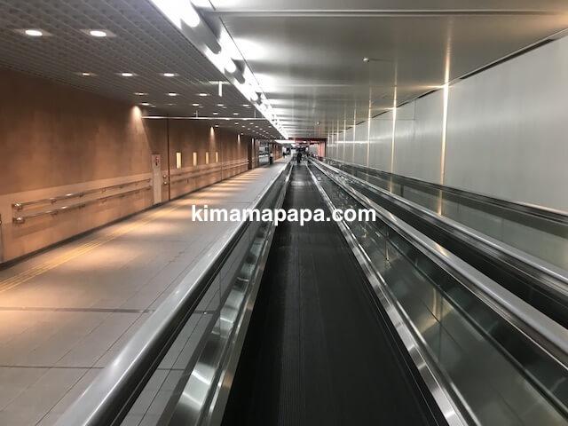 羽田第1ターミナル、第2旅客ターミナル連絡通路