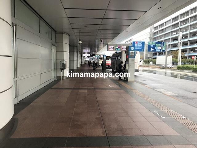 羽田第2ターミナル、バスのりば