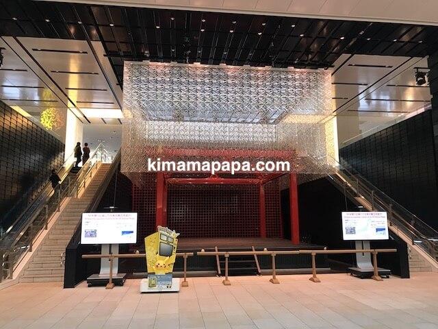 羽田第3ターミナル、4Fお祭りステージ