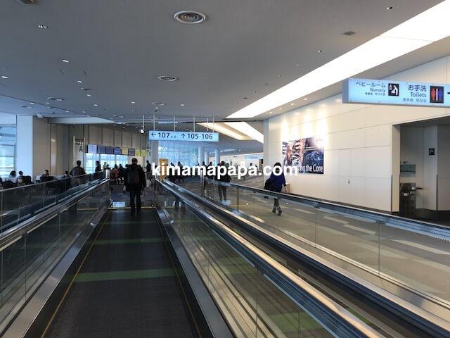 羽田第3ターミナル、107番ゲート