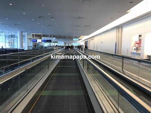 羽田第3ターミナル、108番ゲート