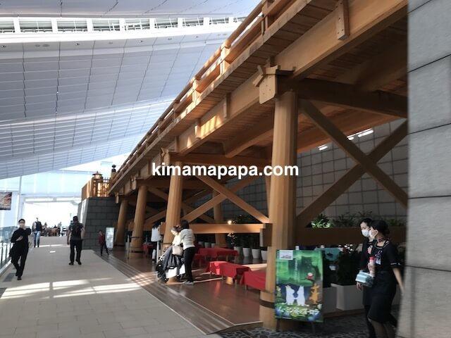 羽田第3ターミナル、4F羽田日本橋