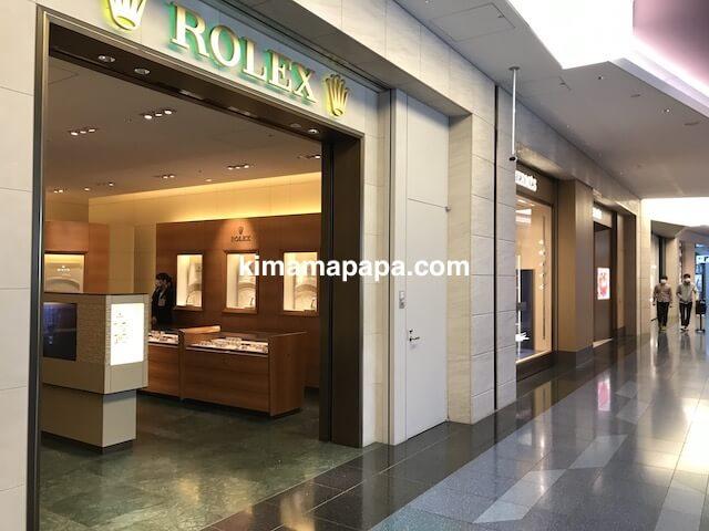 羽田第3ターミナル、ロレックス