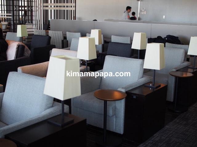 羽田第3ターミナル、JALスカイラウンジannex(臨時)の椅子