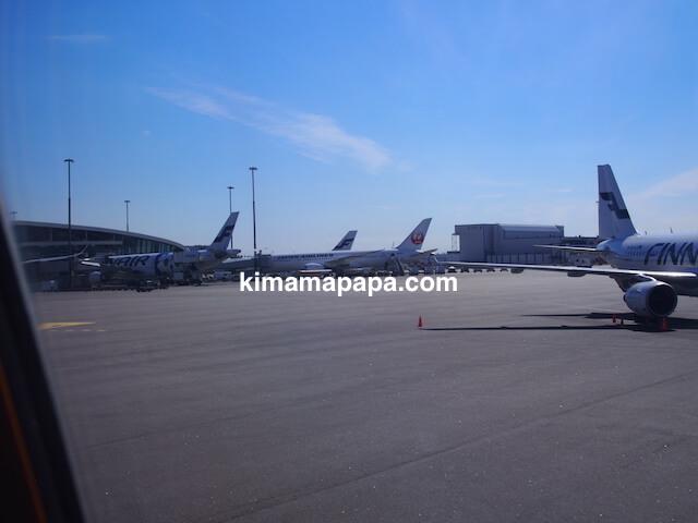 ヴァンター国際空港の飛行機