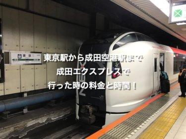 東京駅の成田エクスプレス