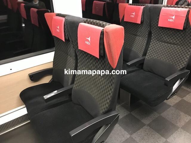 成田エクスプレス、座席
