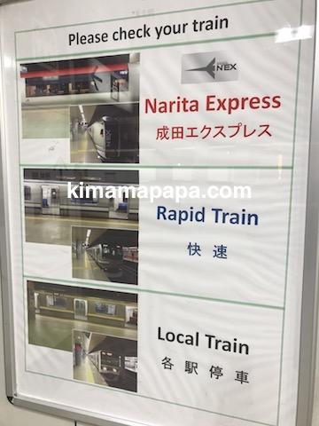 成田エクスプレス、電車の種類