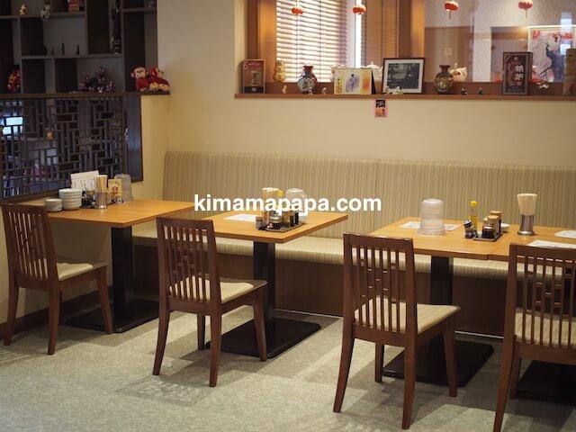 小松、勝ちゃんのテーブル