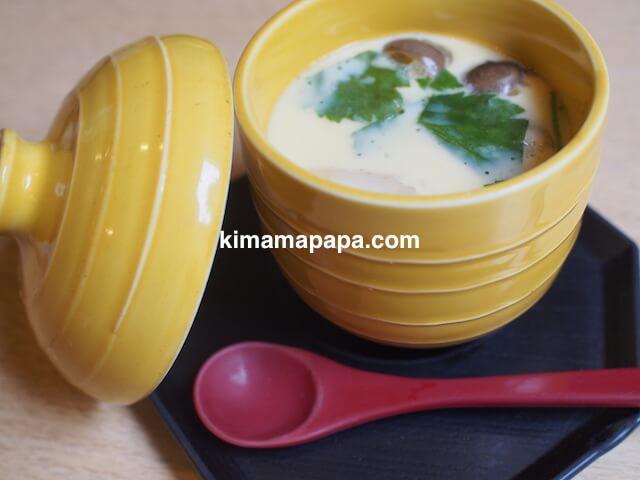 石川、粟津の直又寿司の茶碗蒸し