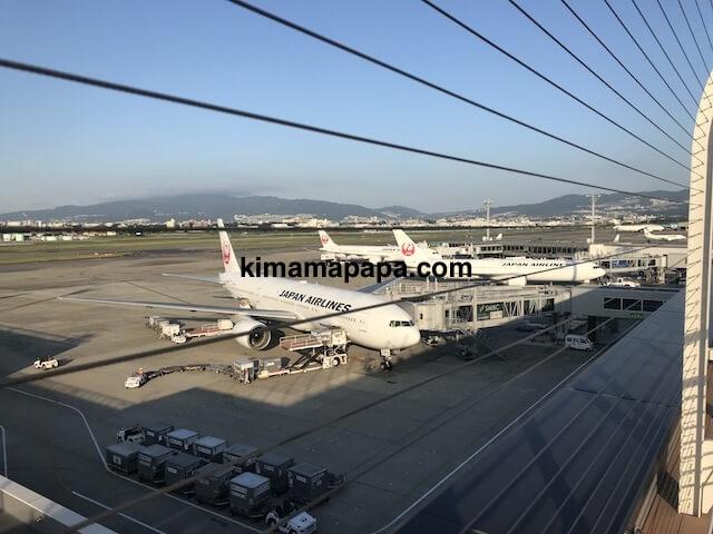 伊丹空港、北ターミナルの展望デッキ