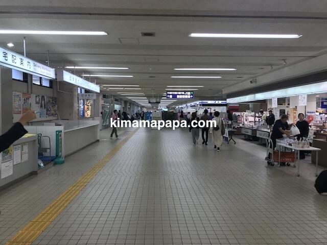 小松空港、1Fフロア