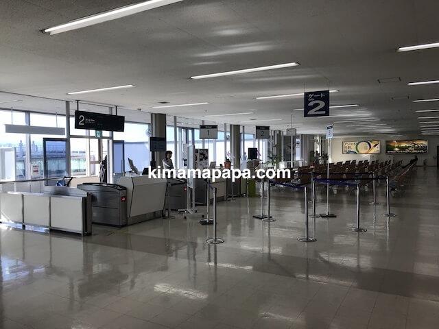小松空港、ANA2番ゲート
