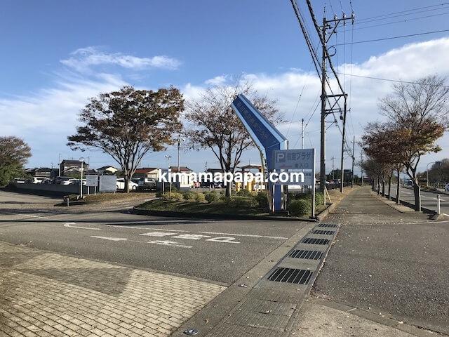 小松空港、国際線第1駐車場