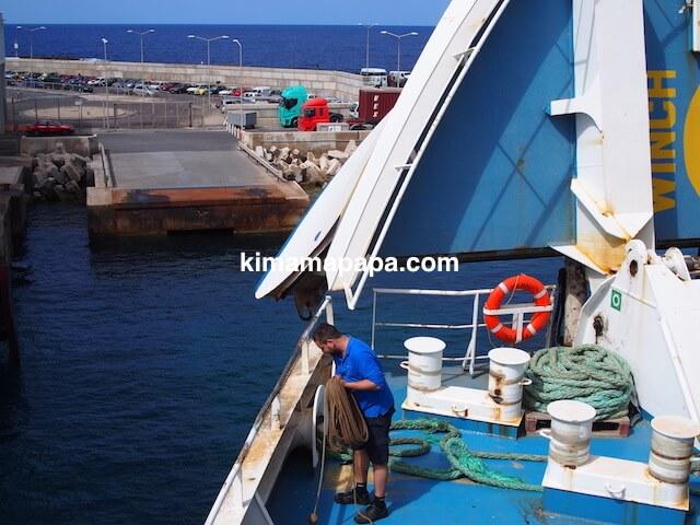 マルタ島、チェルケウア港へのアプローチ