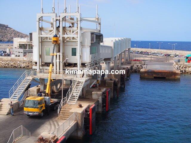 マルタ島、チェルケウアの港