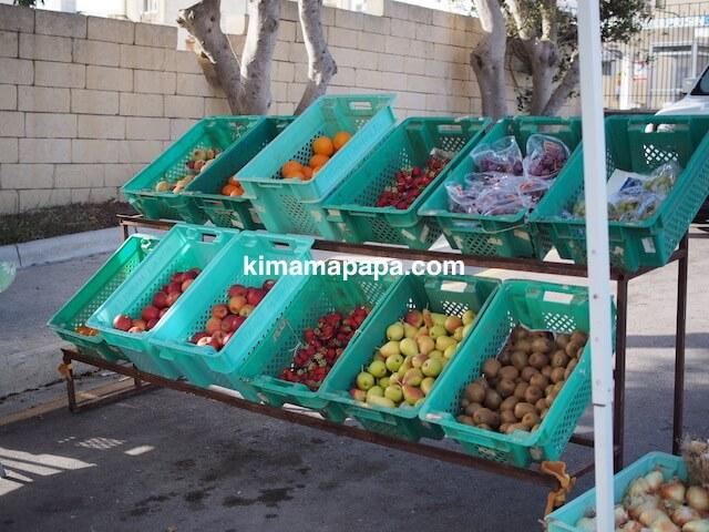 ゴゾ島、フルーツ販売