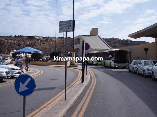 ゴゾ島、vapurバス停
