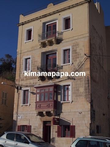 マルタ(スリーシティーズ)、カルカラのヴィラ・デル・ポルトホテルの外観