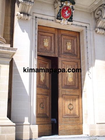 マルタ、勝利の女神教会の入り口