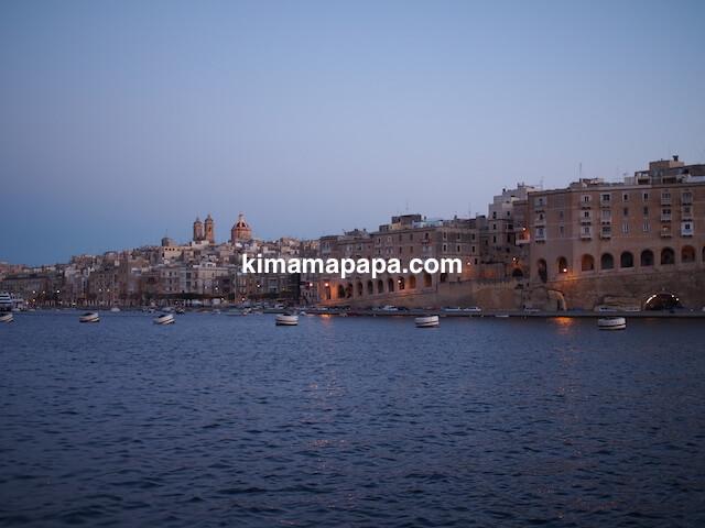 マルタ、ヴィットリオーザから見たセングレア