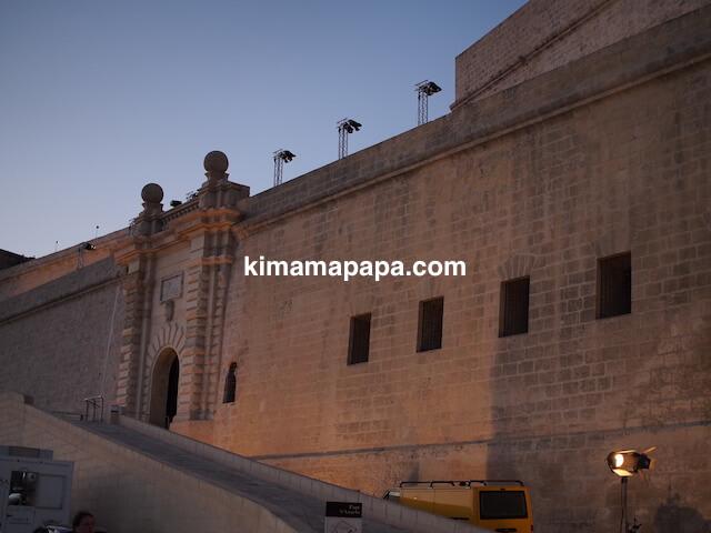 マルタ、ヴィットリオーザの聖アンジェロ砦