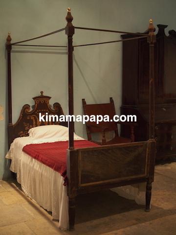 マルタ宗教裁判官宮殿のベッドルーム