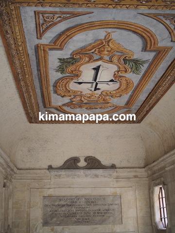 マルタ宗教裁判官宮殿の天井