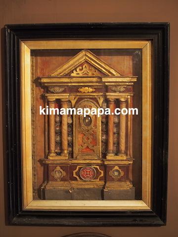 マルタ宗教裁判官宮殿の展示物