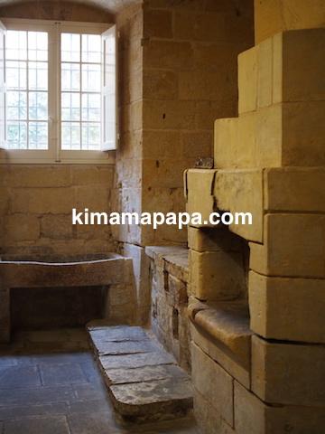 マルタ宗教裁判官宮殿のキッチン(オーブン)