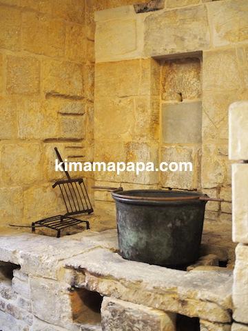 マルタ宗教裁判官宮殿のキッチン(かまど)
