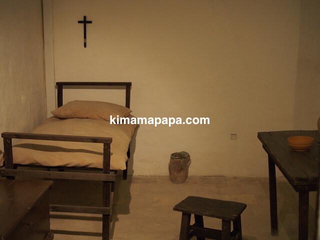 マルタ宗教裁判官宮殿の刑務所長室