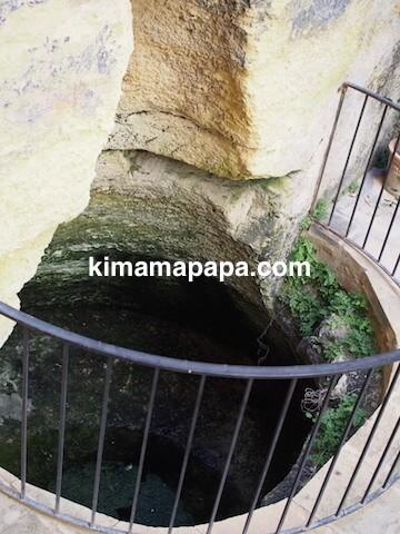 マルタ宗教裁判官宮殿の汚水桝