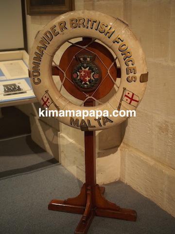 マルタ海洋博物館のイギリス軍司令部