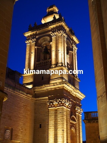 マルタ、ヴィットリオーザの聖ローレンス教会